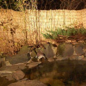 ペンションひだまりの天然温泉
