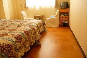 ペンション弓ヶ浜のペットと泊まれる部屋