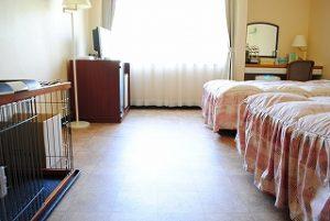 静波リゾートスウィングビーチホテルのぺットと泊まれる部屋