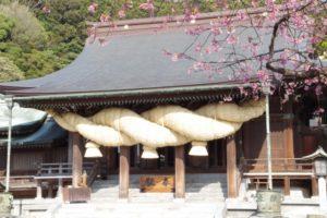 宮地嶽神社(福岡県の桜の観光名所)