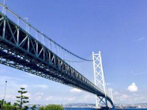 明石海峡大橋(淡路島のおすすめ観光スポット)