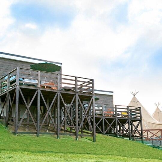 ネスタリゾート神戸GLAMP BBQ PARK(兵庫県のペットと泊まれる宿)